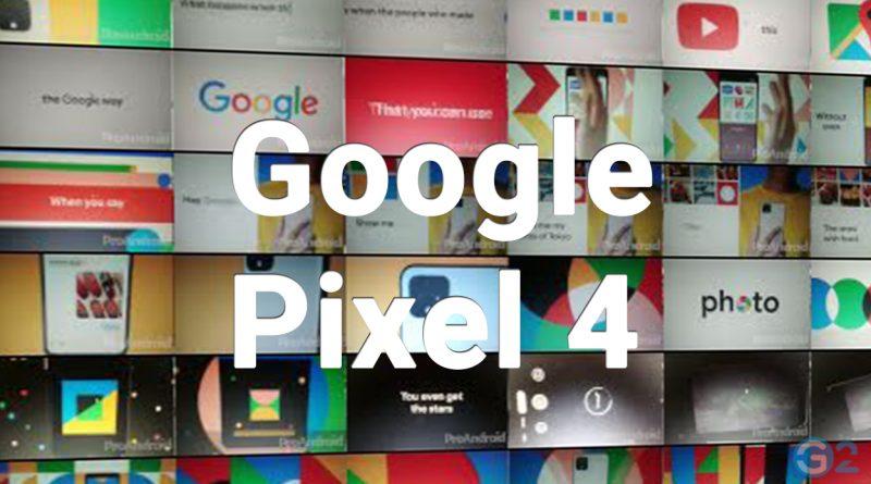 Google Pixel 4 Video
