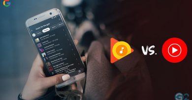 Google Play Music vs. YouTube Music