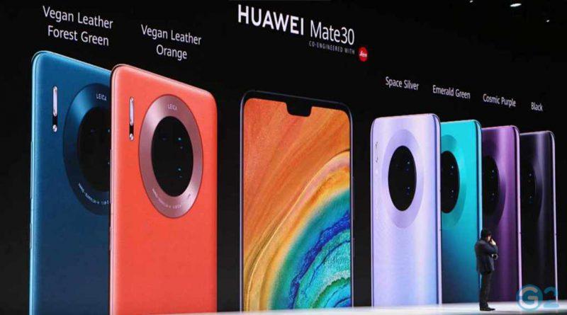 Huawei Mate 30 Event