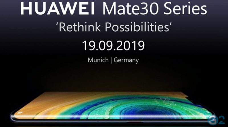Huawei Mate 30 Global Launch