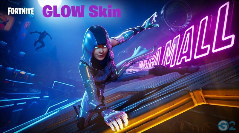 Fortnite Glow Skin von Samsung