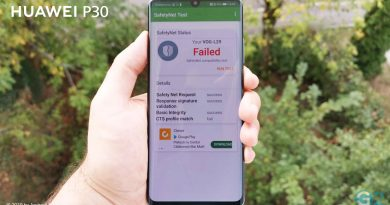 Huawei P30 Pro SafetyNet fail