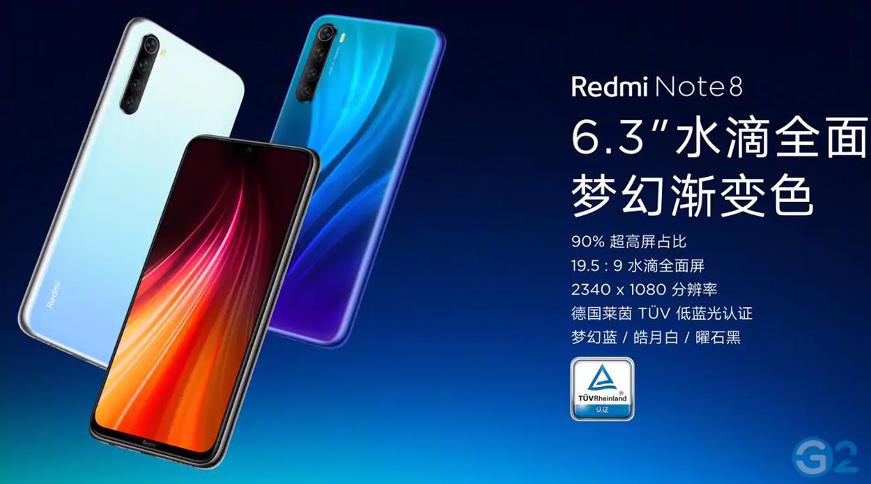 Redmi Note 8 von Xiaomi