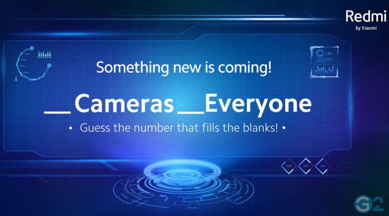 Redmi Teaser für Quad-Kamera