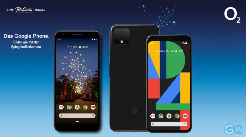 Google Pixel 3a bei O2