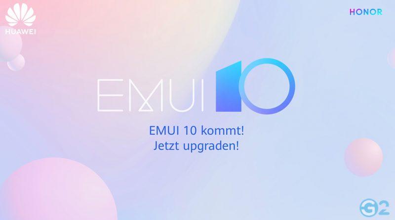 EMUI 10 Update-Pläne