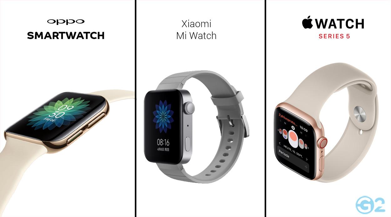 Oppo Smartwatch im Versus