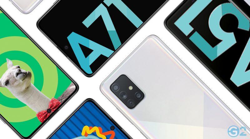 Samsung Galaxy A51 Samsung Galaxy A51 und A71