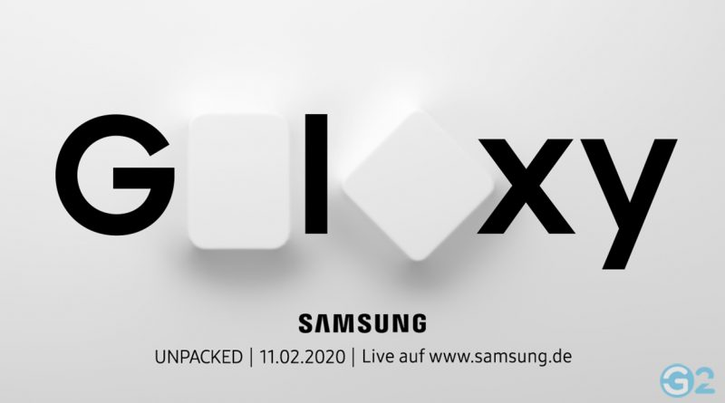 Samsung Galaxy S20 Unpacked Event