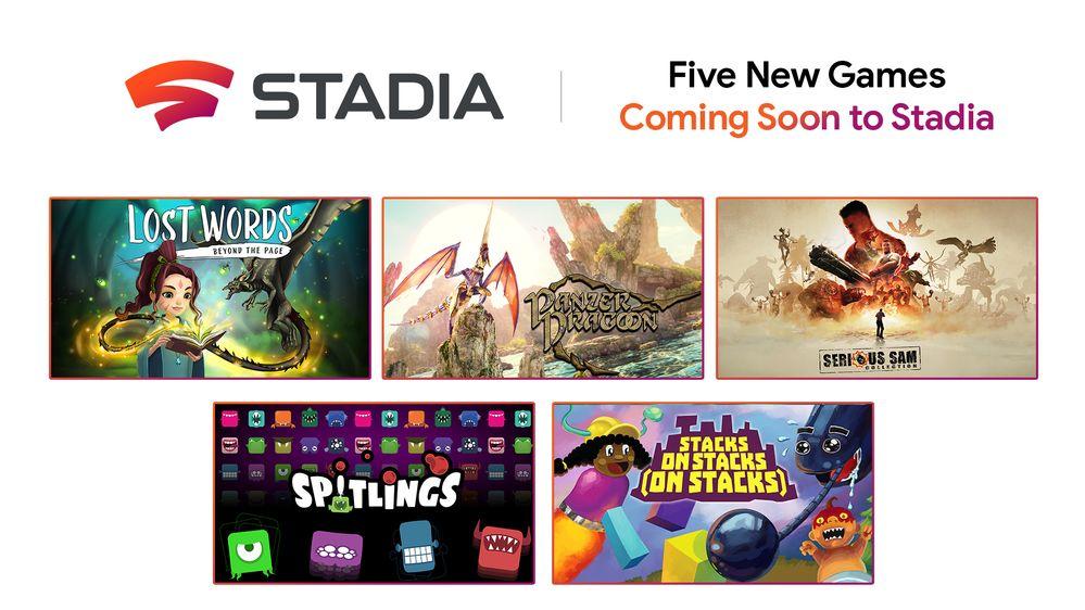 5 neue Google Stadia Spiele