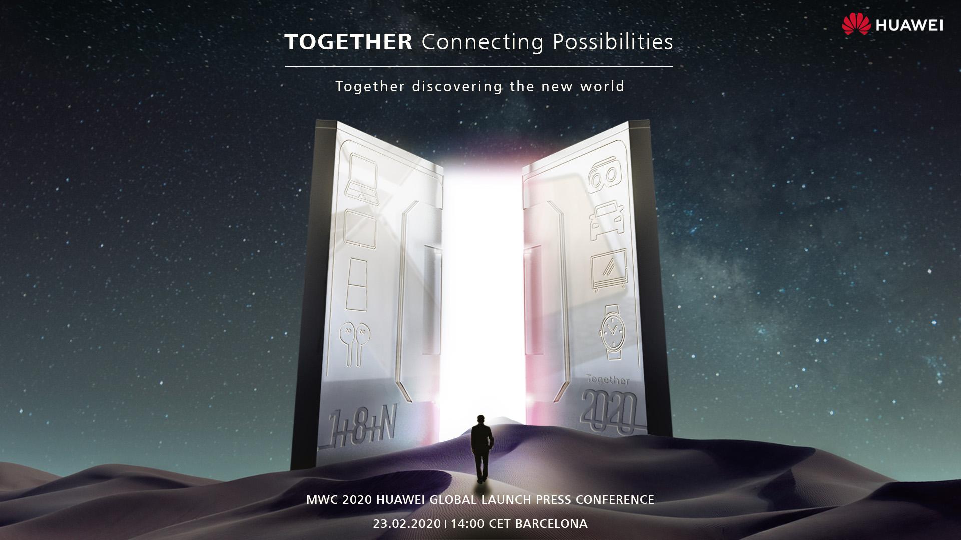 Huawei mit virtueller MWC 2020 Pressekonferenz