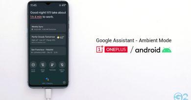 OnePlus mit Google Ambient Mode