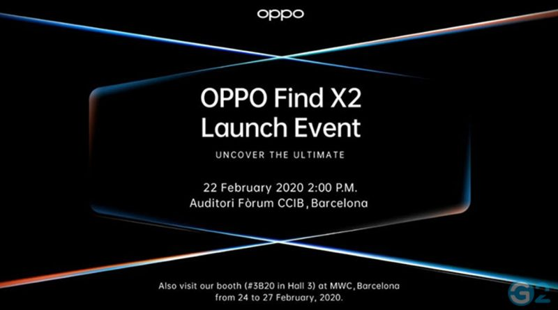 Oppo Find X2 Event