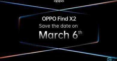 Oppo Find X2 Ersatzevent