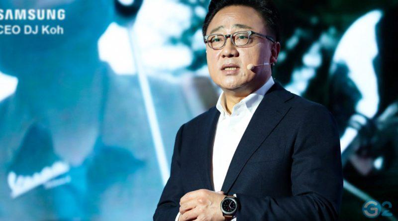 Samsung Galaxy Unpacked 2020 DJ Koh