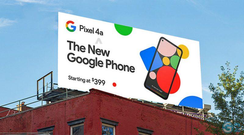 Google Pixel 4a Poster
