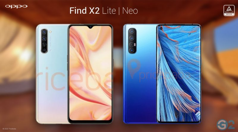 Oppo Find X2 Neo und Lite