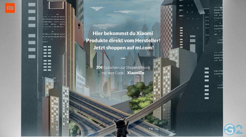 Xiaomi Online-Shop Eröffnung