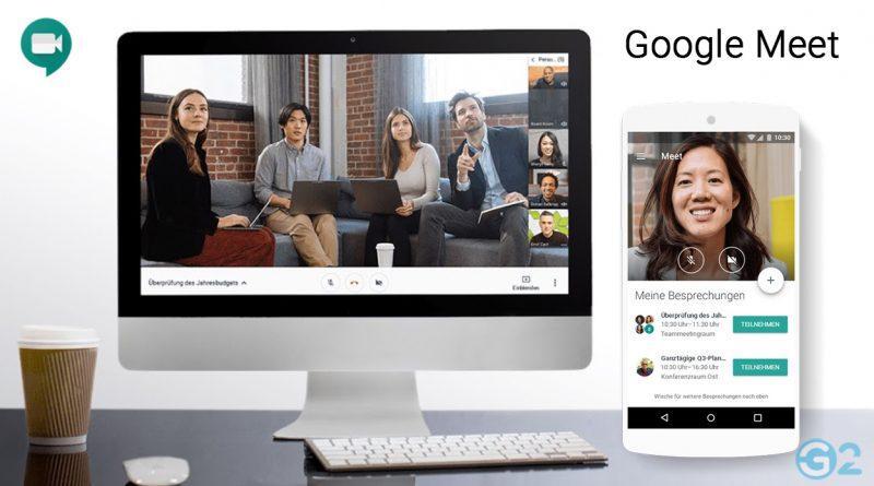 Aus Hangouts Meet wird Google Meet
