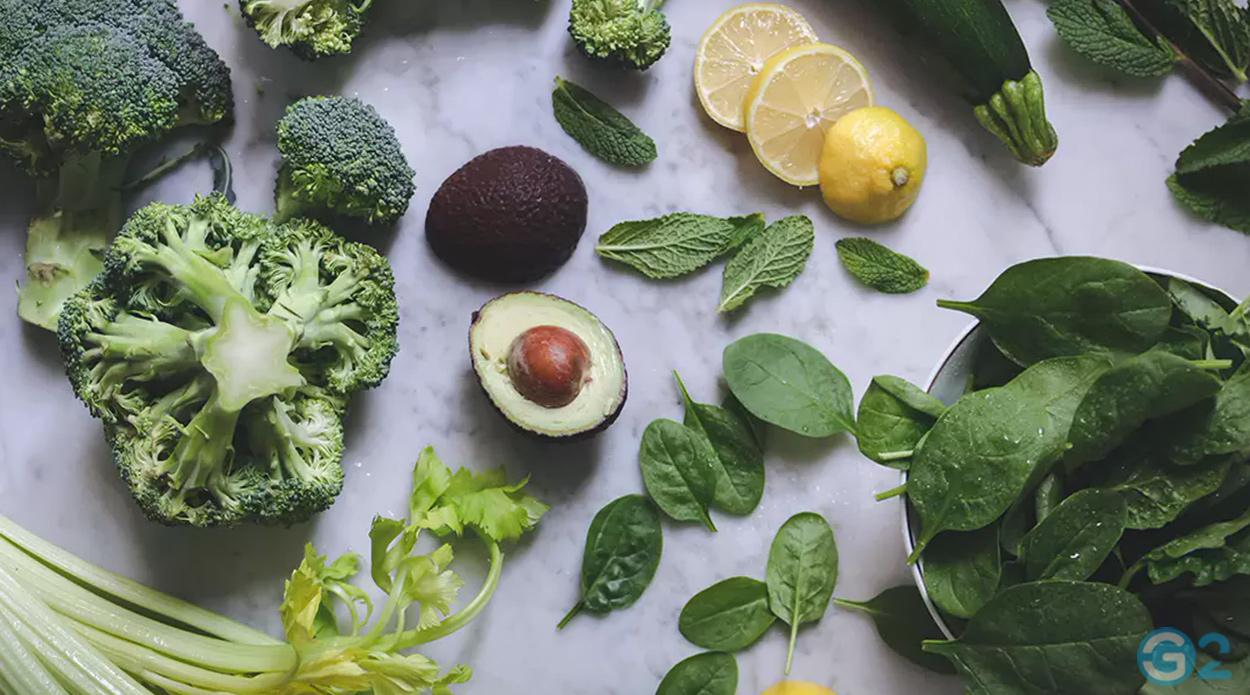 Spinat, Grünkohl und Brokkoli