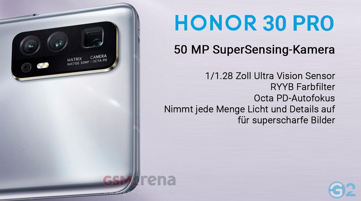 Honor 30 Pro Quad-Kamera