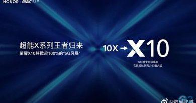 Honor 10X wird zum Honor X10