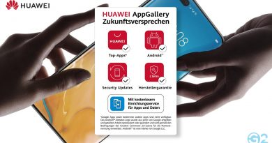 Huawei Transparenz