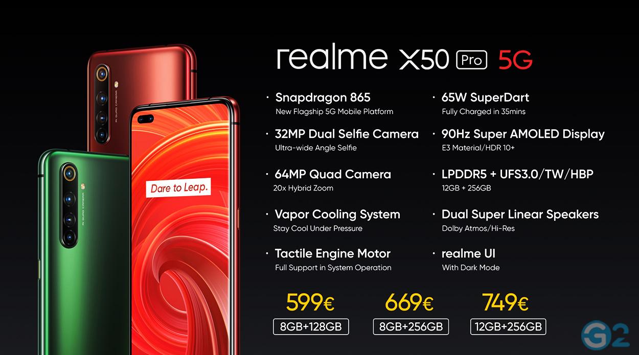 Realme X50 Pro Preise