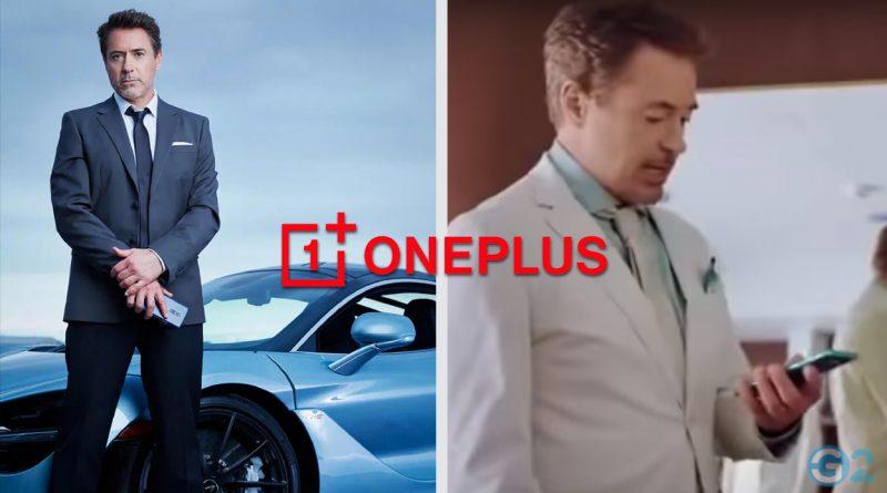 Robert Downey Jr. OnePlus Testimonial
