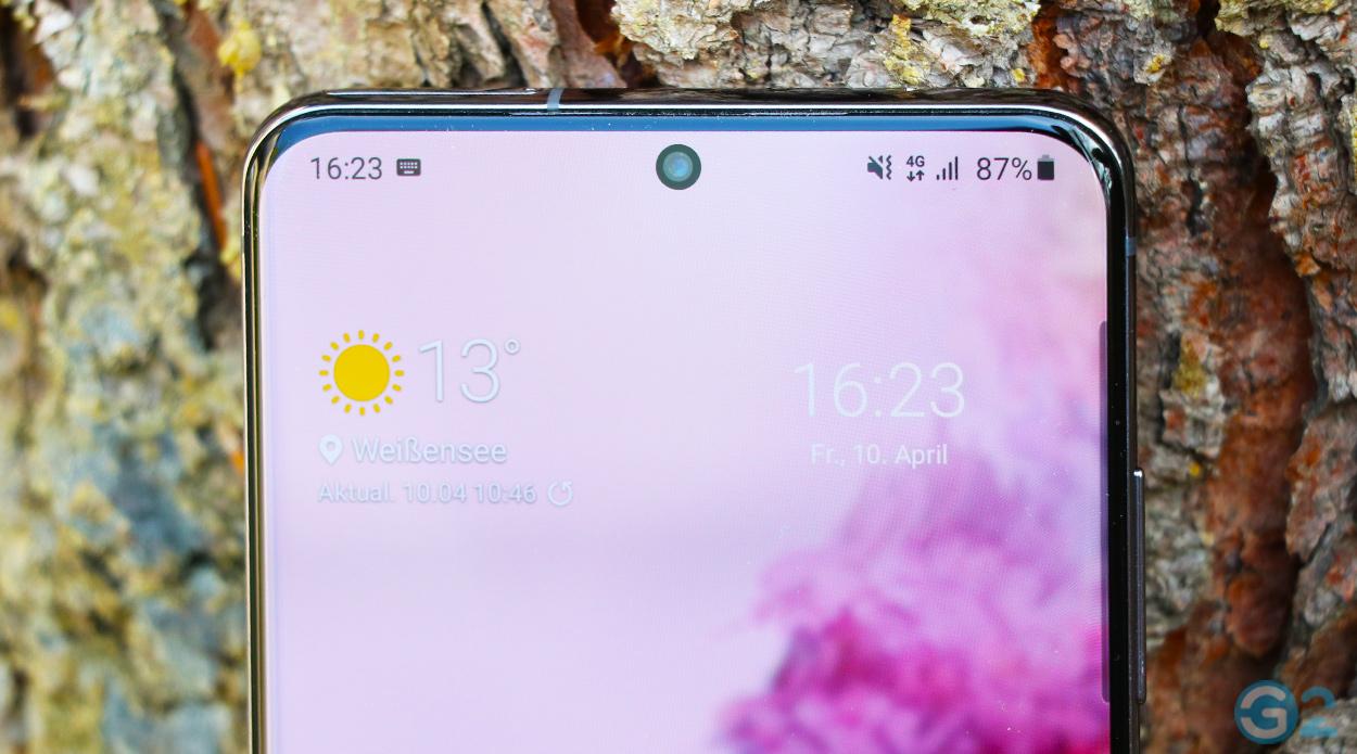 Samsung Galaxy S20 Ultra Frontkamera