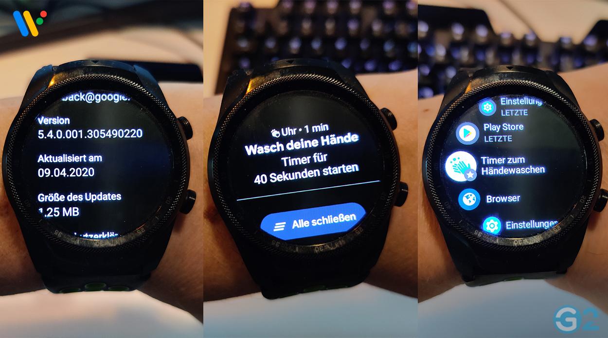 Wear OS Uhr-App