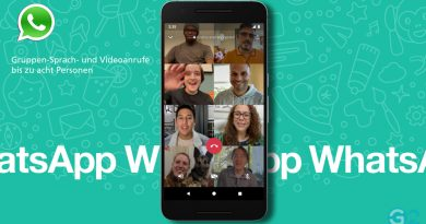 WhatsApp Videoanrufe