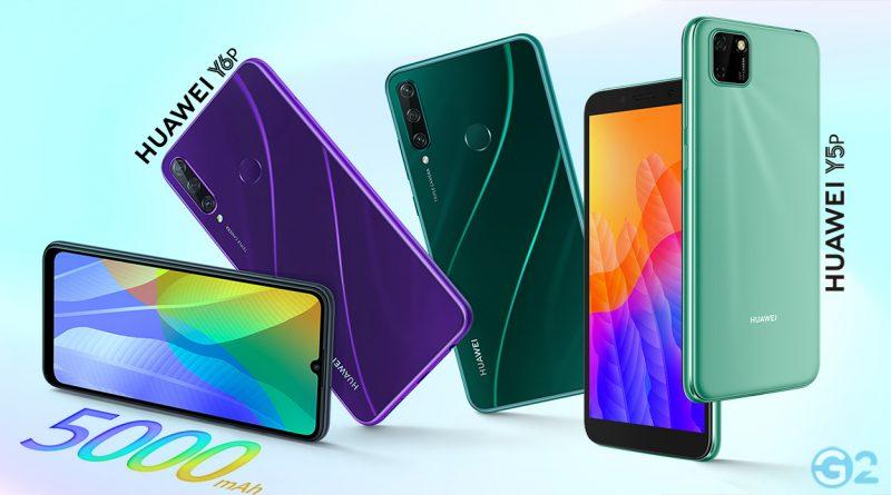 Huawei Y5P und Y6P