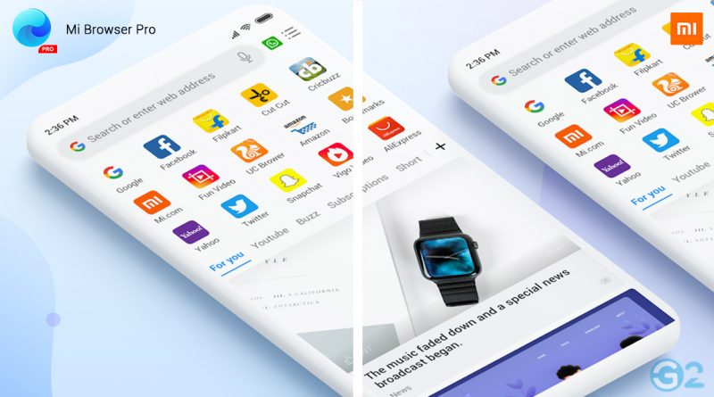 Xiaomi Mi Browser Datenschutzvorwürfe