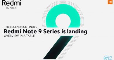 Redmi Note 9 Pro & Series
