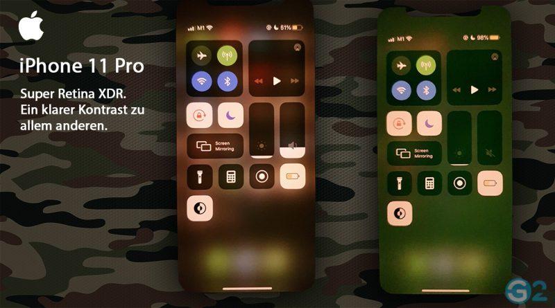 Apple iPhone 11 Pro mit Grünstich