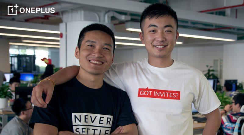 OnePlus Gründer und Geschäftsführer Carl Pei und Pete Lau