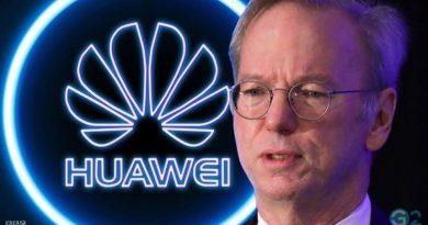 Ex-Google-Chef Eric Schmidt vs. Huawei