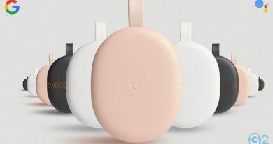 Google Chromecast 4 mit Google TV und Fernbedienung