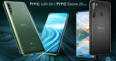 HTC Desire 20 Pro und HTC U20 5G