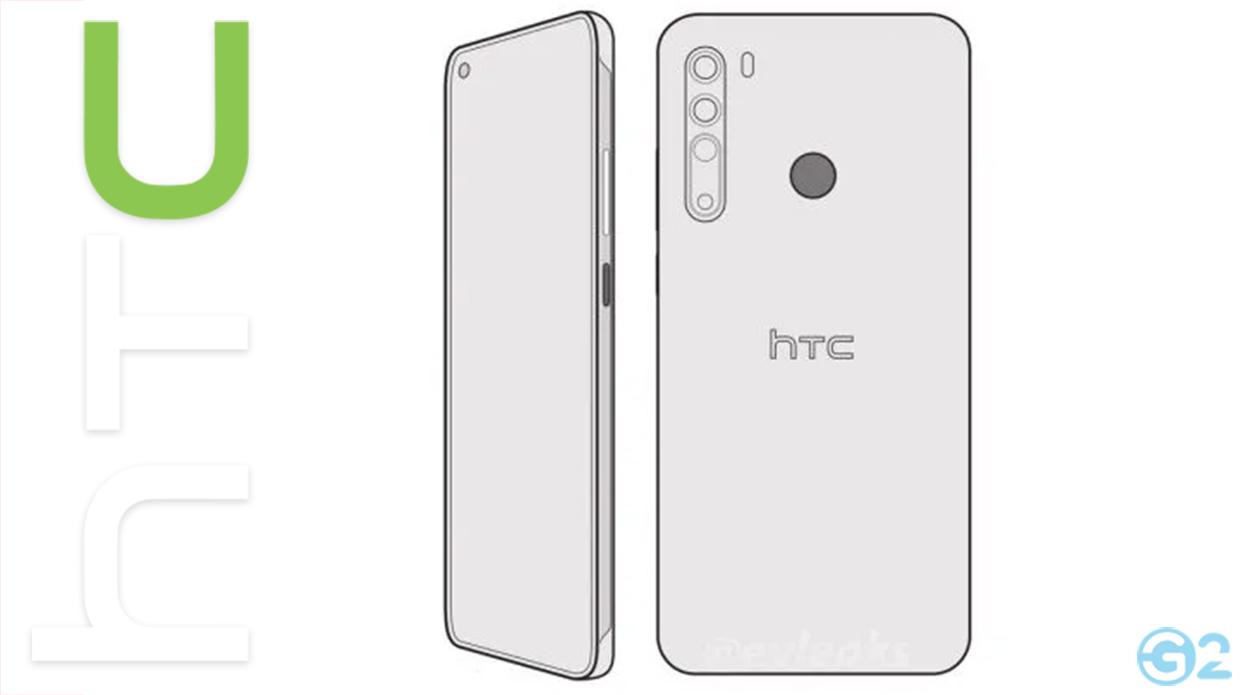HTC Desire 20 Pro Render