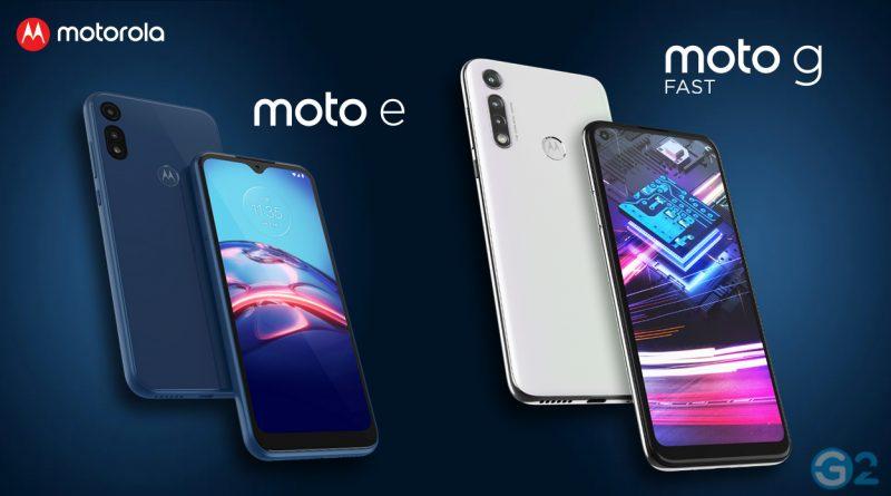 Motorola Moto E und Moto G Fast