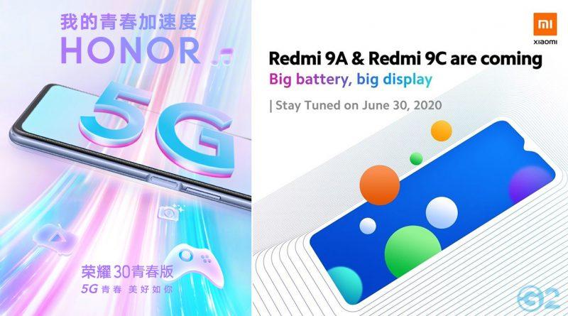 Honor und Xiaomi mit neuen Mittelklasse-Smartphones