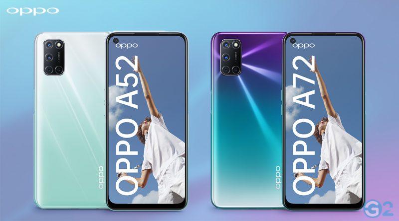 Oppo A52 und A72