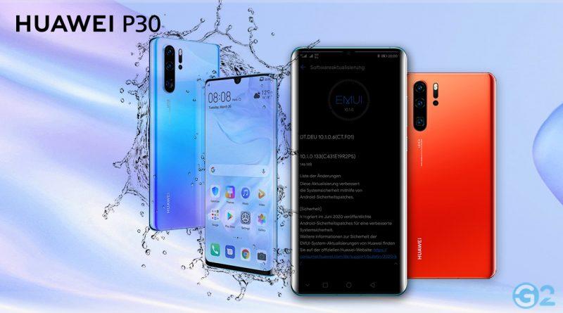 Huawei P30 und P30 Pro Update