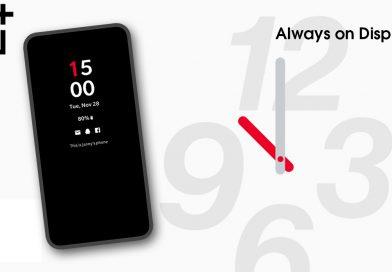 Always on Display bei OnePlus