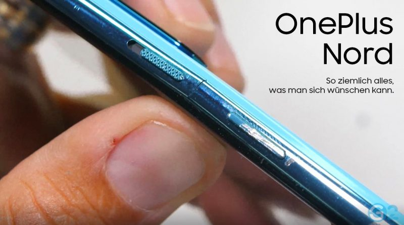 OnePlus Nord Durability-Test