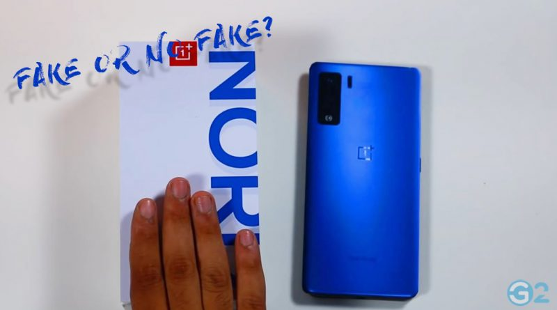 OnePlus Nord Unboxing-Video