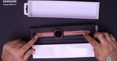 Samsung Galaxy Watch 3 Unboxing