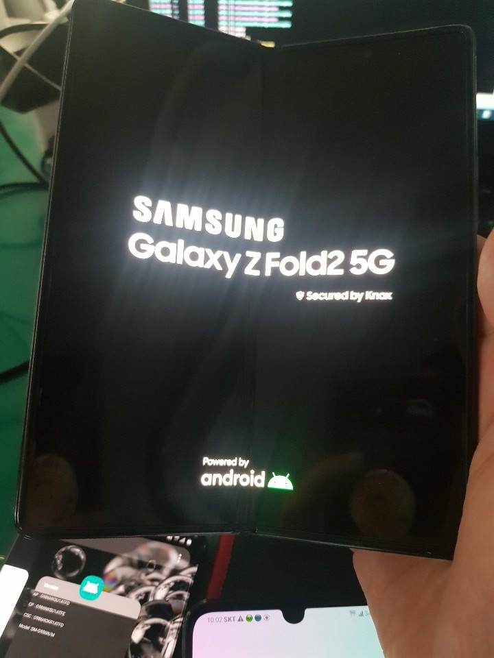 Samsung Galaxy Z Fold 2 5G im Hands-On